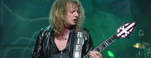 K.K. Downing deja Judas Priest