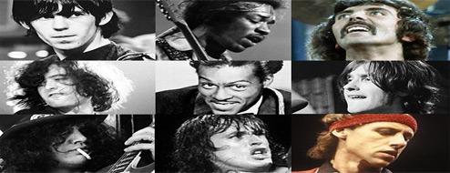 Los 50 mejores riffs de guitarra del Rock N Roll