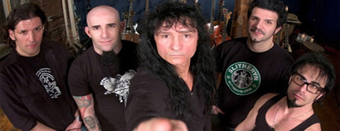 Anthrax termina la grabación de su nuevo álbum