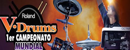 Roland V Drums. 1er campeonato mundial 2011