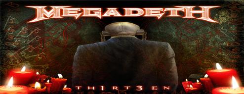 Megadeth TH1RT3EN: Portada y tracklist del nuevo album de Megadeth