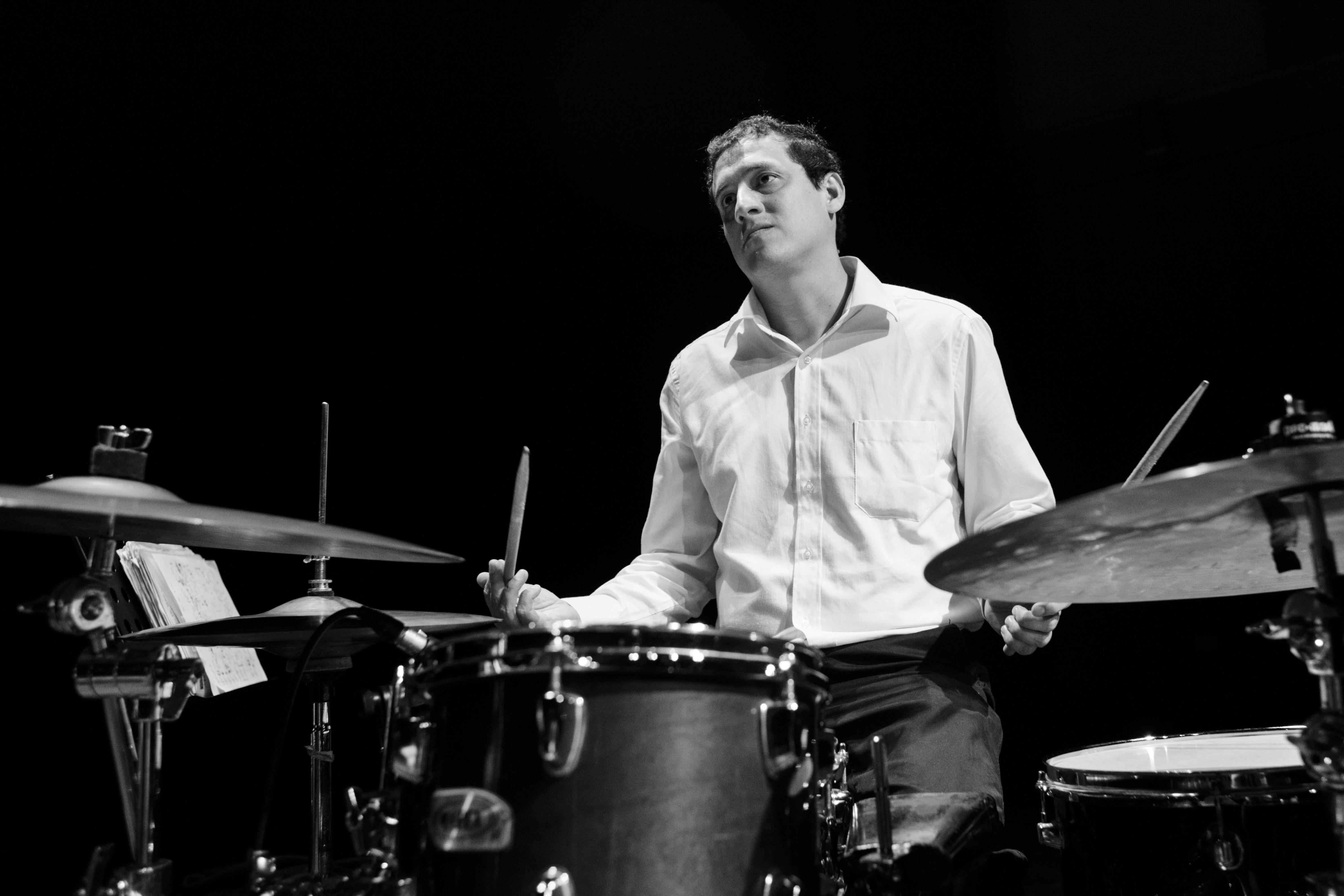 Clases de bateria(jazz) Marco Aurelio.